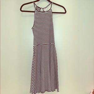 Mossimo Black/White Dress